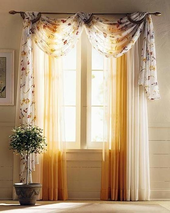 curtains with valance for living room 86