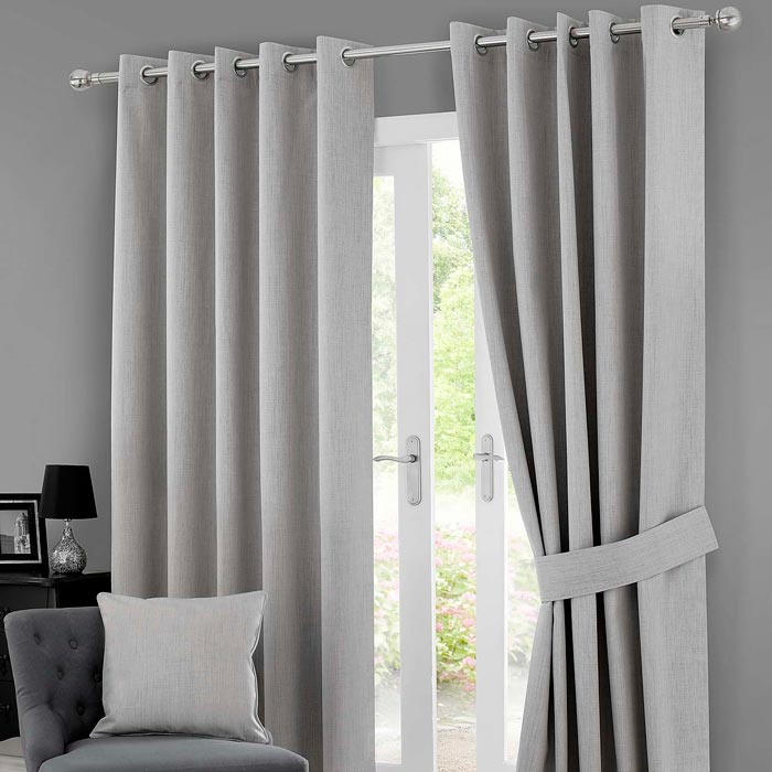 dunelm grey curtains