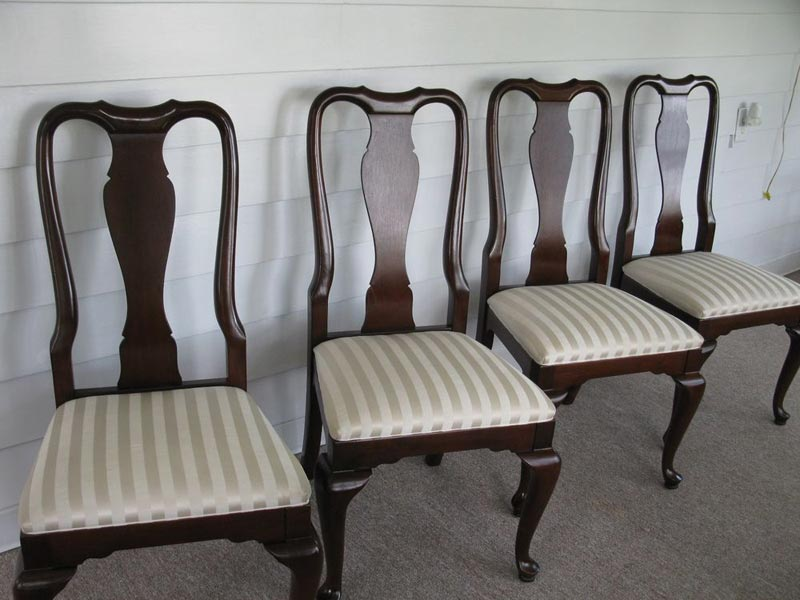 ethan allen queen anne dining room chairs
