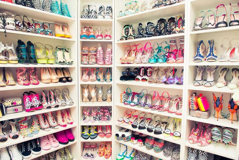 in her shoes wardrobe