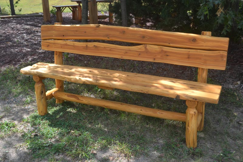 rustic garden bench designs
