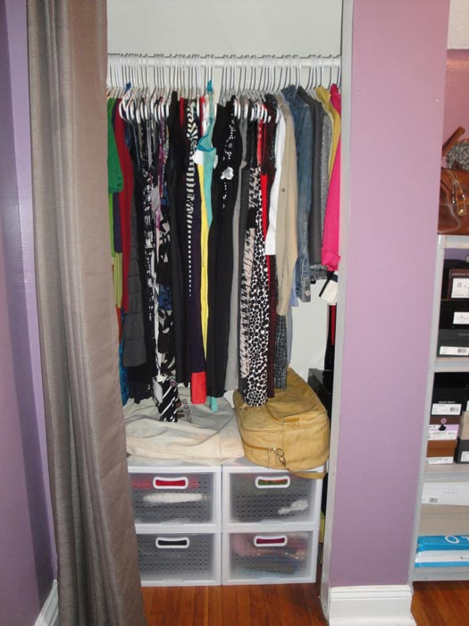 storage ideas for small closets