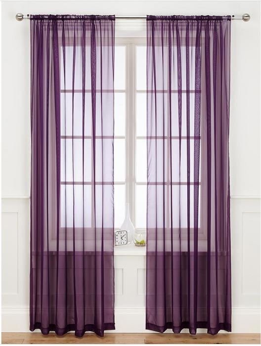 voile curtains ebay york