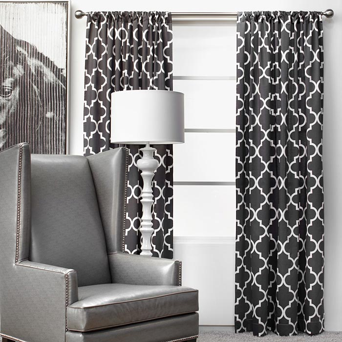 z gallerie charcoal curtains