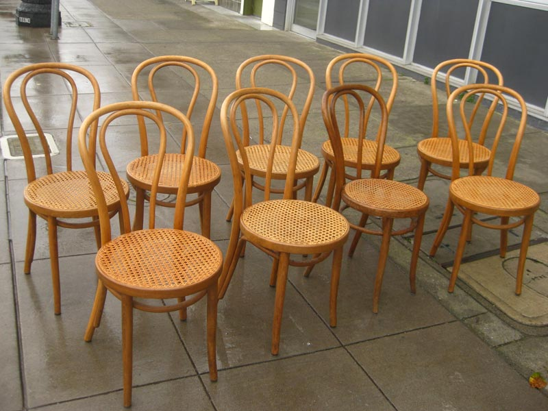 bentwood cafe chairs for sale