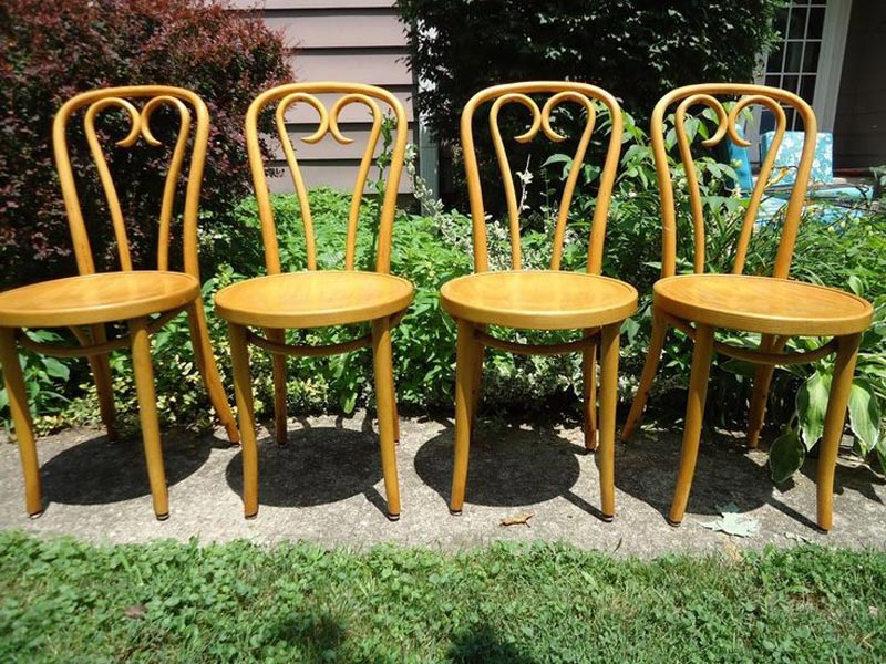 bentwood cafe style chairs