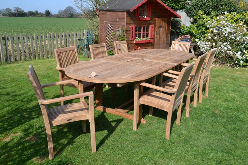 cheap teak garden furniture uk