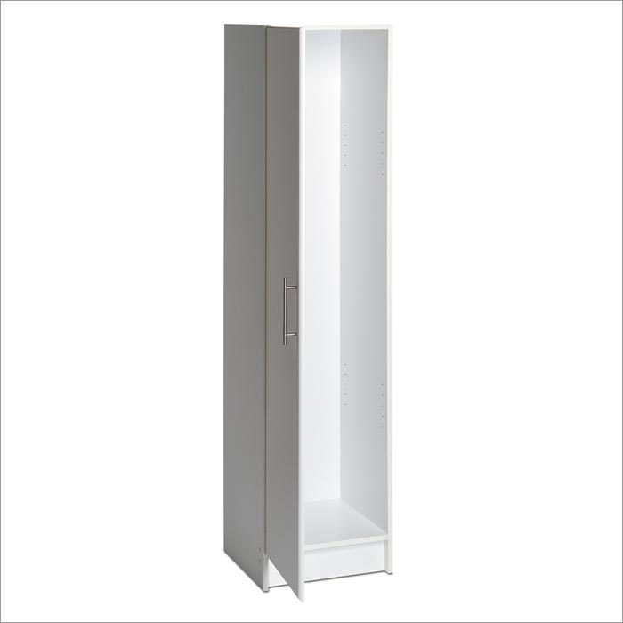 free standing broom cabinet