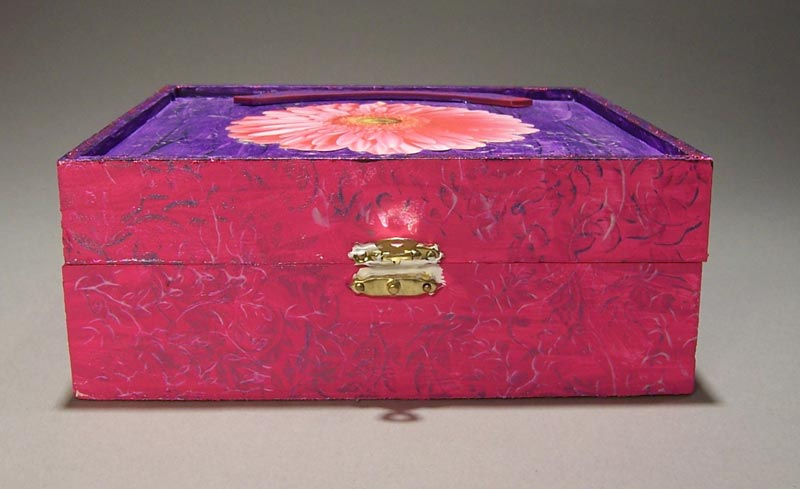 How To Decorate A Wooden Box. Picture: Supplied  Source:istock