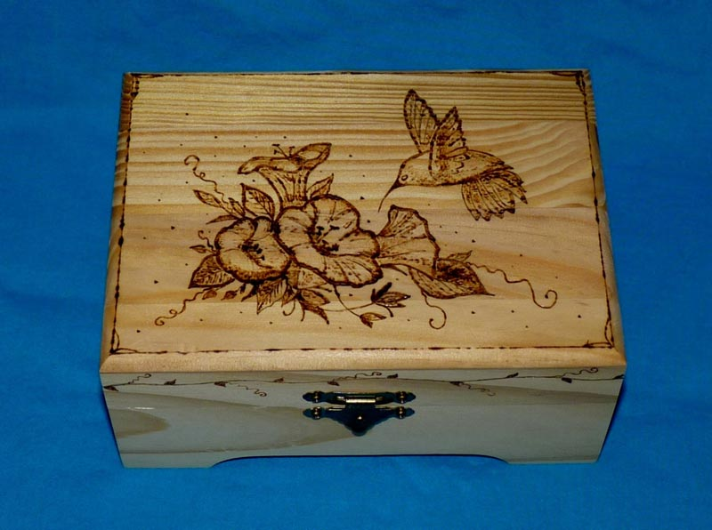 how to make a jewelry box from wood decorate