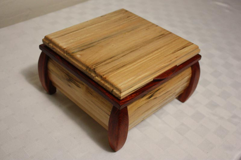 how to make a jewelry box from wood