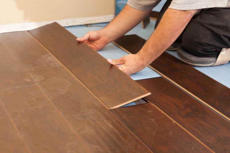 laminate v engineered wood flooring