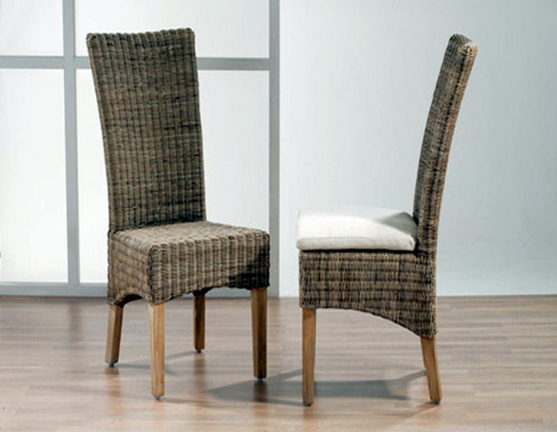 wicker dining chairs cheap