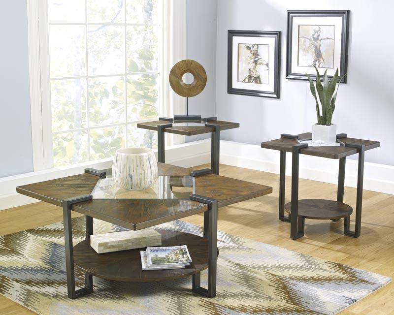 3 piece coffee table set walmart