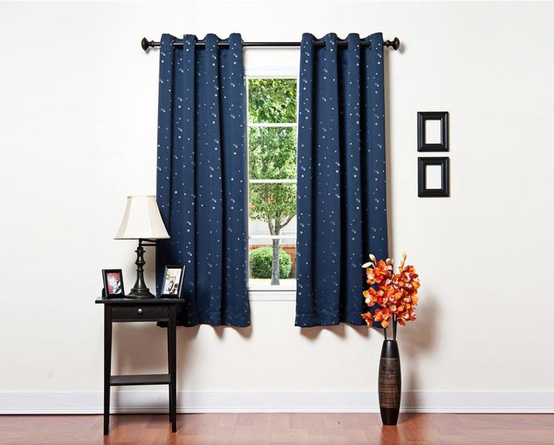 63 inch length grommet curtains