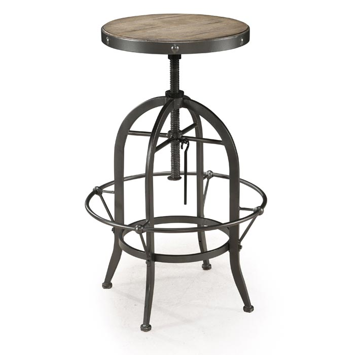 backless metal swivel bar stools