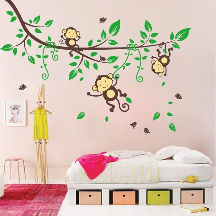 bedroom wall decals amazon