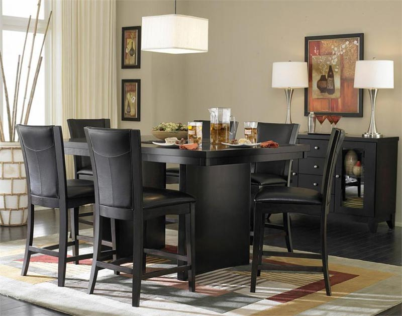 black dining room set canada
