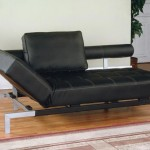 : black leather sofa bed sleeper
