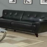 : black leather sofa beds uk