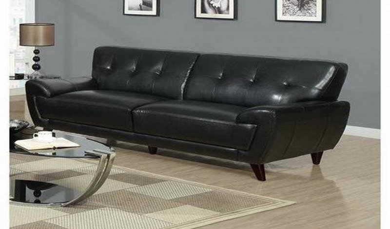 Black Leather Sofa Beds Uk