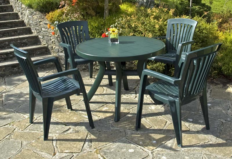 b&m plastic garden furniture