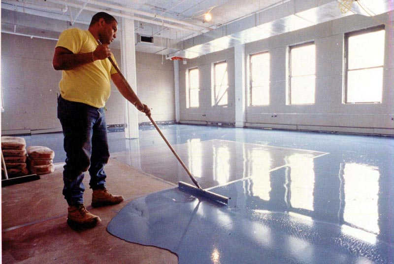 epoxy resin flooring contractors