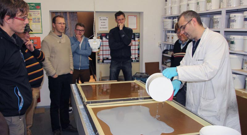 epoxy resin flooring training