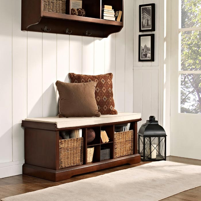 hallway benches for small spaces