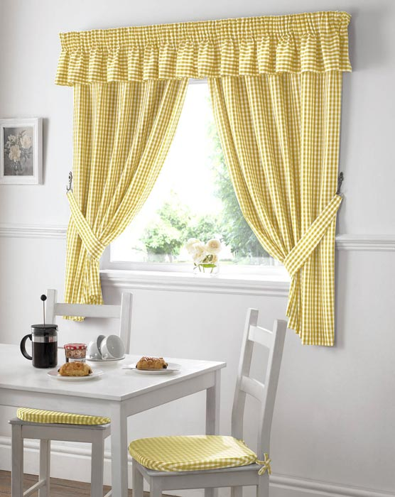 kohls yellow curtains