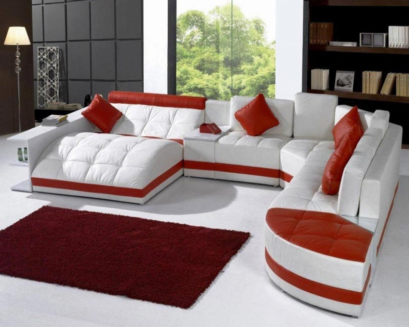 Moda 9 Piece Sectional Sofa