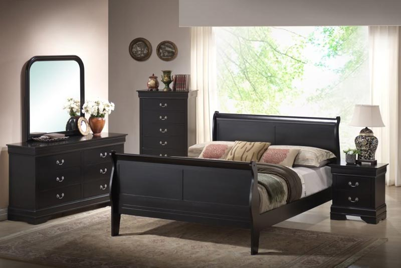 black bedroom furniture cheap