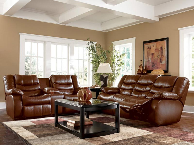brown leather sofa modern decorating ideas
