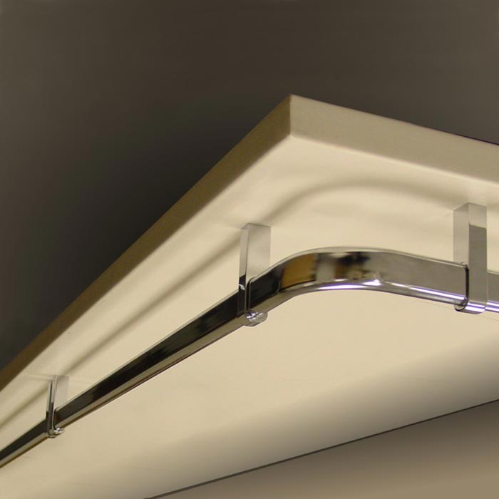 closet rod and bracket