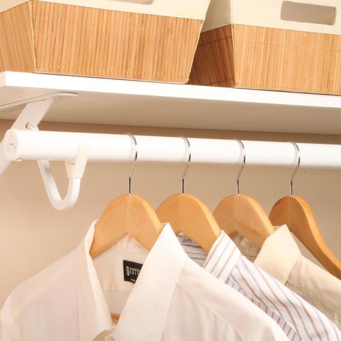closet rod angled bracket