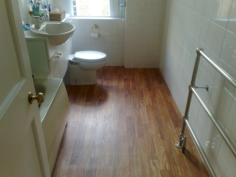 engineered bamboo flooring bathroom