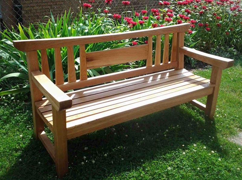 garden wood bench designs