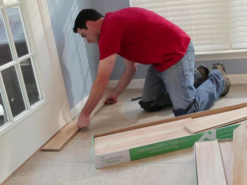 how do you install laminate flooring