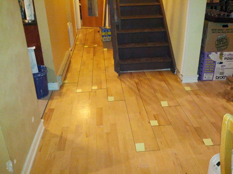 How To Lay Laminate Flooring In A Hallway Couch Sofa Ideas