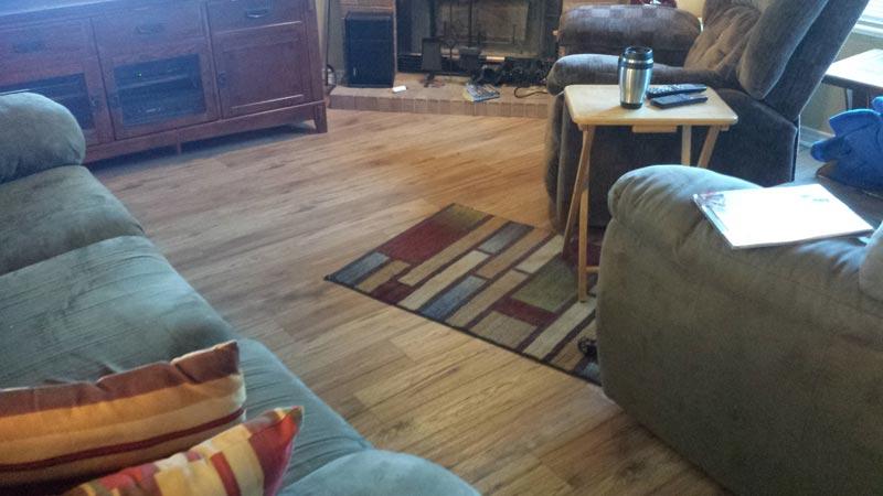 lay laminate flooring youtube