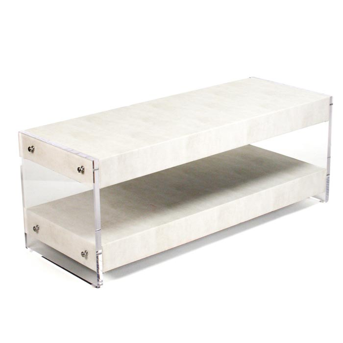 lucite coffee table australia