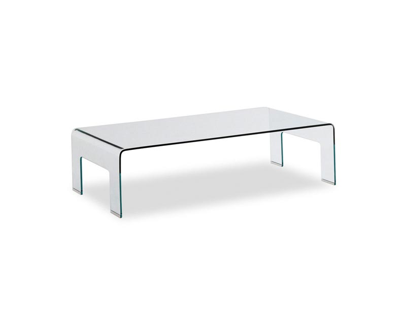 lucite coffee table cb2