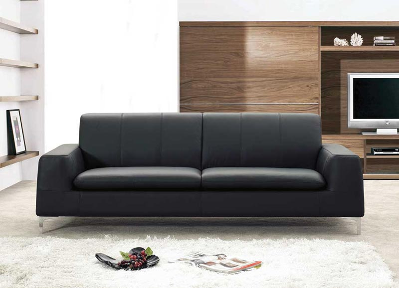 Modern Leather Sofa And Loveseat