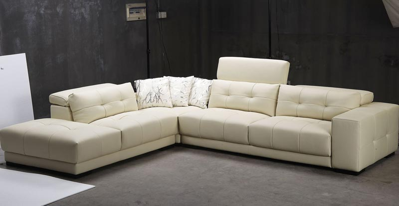 Modern Leather Sofa Atlanta