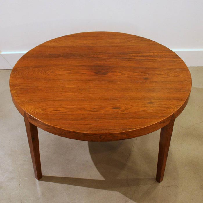retro rosewood coffee table