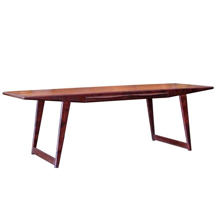 rosewood coffee table danish