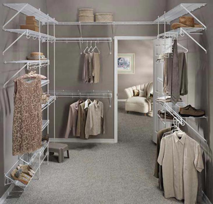 walk in closet ideas cheap