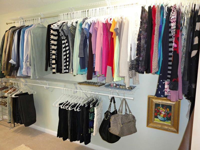 cheap diy closet ideas