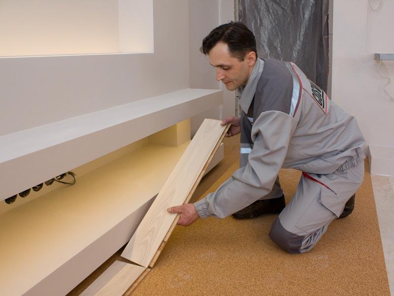 click lock flooring installation cost