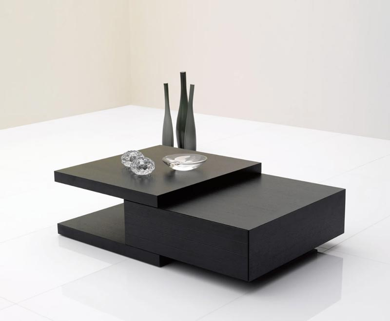 coffee table black ash
